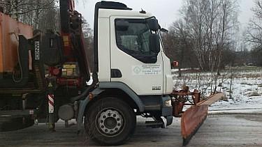 Akcja zima na drogach gruntowych w Zgierzu (foto2)