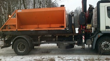 Akcja zima na drogach gruntowych w Zgierzu (foto3)