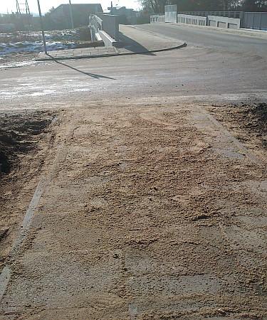Przeróbki ciągu pieszego w obrębie wiaduktu kolejowego przy ul. Dygasińskiego (foto1)