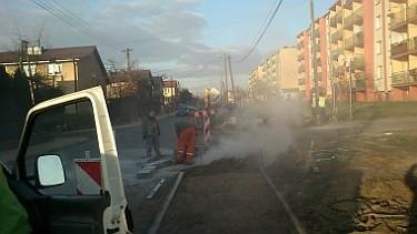 Przebudowa ciągów pieszych przy drogach powiatowych na terenie Poddębic (foto4)