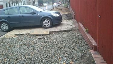 Remont chodnika przy ul. Piątkowskiej (foto2)