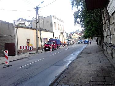 Przebudowa fragmentu ulicy Popiełuszki w Zgierzu