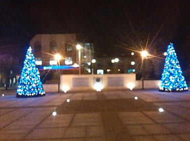 Plac Kilińskiego - dekoracje świąteczne (foto1)