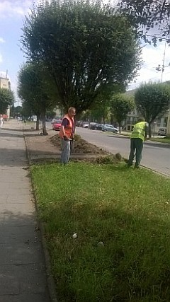 Rabaty - ul.Długa - przygotowanie (foto1)