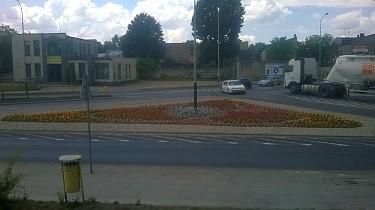 Rabata u zbiegu ulic Piątkowskiej i Łęczyckiej