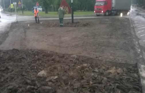 Rabaty - ul.Piątkowska i ul.Łęczycka - przygotowanie (foto1)