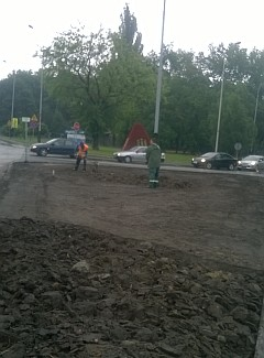 Rabaty - ul.Piątkowska i ul.Łęczycka - przygotowanie (foto2)